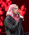 Muzoon Almellehan - Global Citizen Festival Hamburg 01.jpg