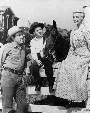 My Friend Flicka (TV series) - The McLaughlins and Flicka, 1957.