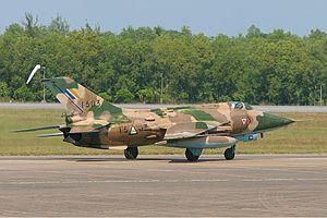 Myanmar Air Force - A Nanchang A-5C Fantan