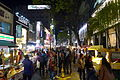Myeong-dong Night view 201604.jpg