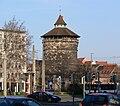 Nürnberg Spittlertorturm vom Plärrer.jpg
