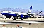 N595UA United Airlines 1998 Boeing 757-222 (cn 28748-789) (6849994657).jpg