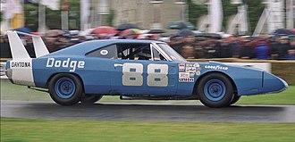 Dodge Charger Daytona - Image: NASCAR Dodge Charger Daytona ( year 1969) 1998 Goodwood Festival of Speed (15156895793)