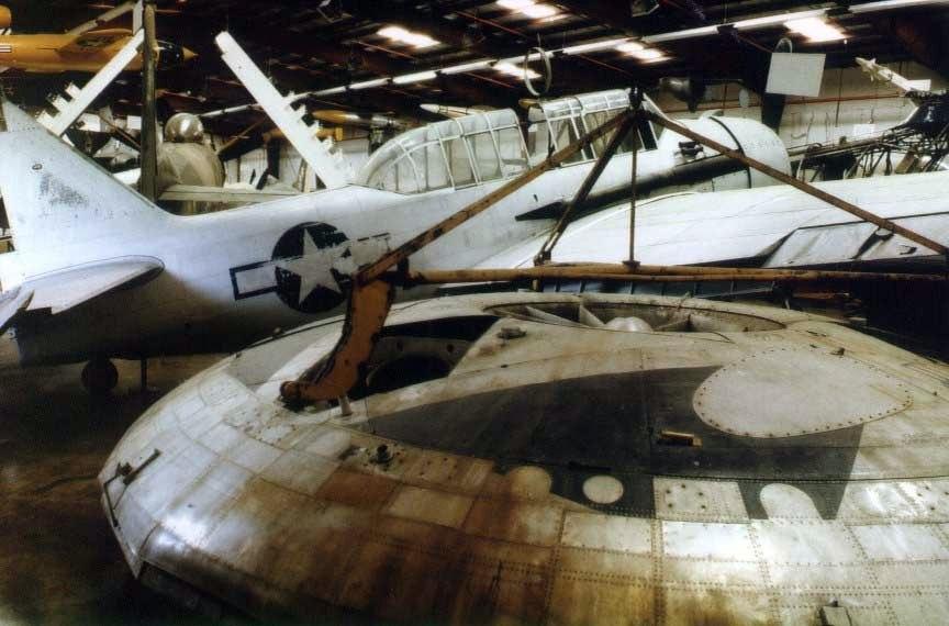 NASM Avro VZ9V-1. (1984)