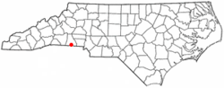 Location of Earl, North Carolina
