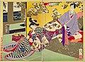 NDL-DC 1312661-Tsukioka Yoshitoshi-おさめ遊女を学ぶ図-明治19-cmb.jpg