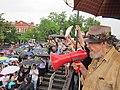 NOLA BP Oil Flood Protest brollys Dr John.JPG