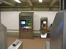 New york metro vending machine
