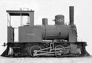 NZASM 13 Tonner 0-4-0T - 13 Tonner, c. 1889