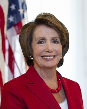 History of the Italians in Baltimore - Nancy Pelosi, the Minority Leader of the United States House of Representatives and served as the 60th Speaker of the United States House of Representatives from 2007 to 2011. She is the only woman to have served as the House Speaker and to date is the highest-ranking female politician in American history.