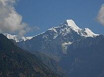 Nanda Kot from Wachham, Uttarakhand, India.jpg