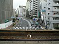 Nankai Imamiyaebisu Station platform - panoramio (4).jpg