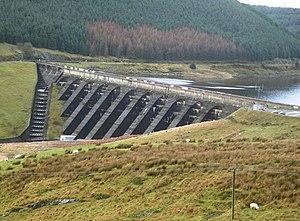 Afon Rheidol - The Nant-y-moch Reservoir Dam