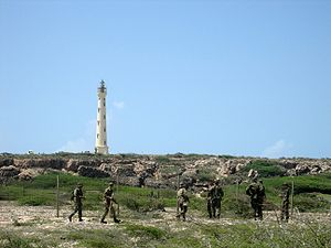 Joran van der Sloot - Dutch Marines vainly searching for Holloway near Aruba's California Lighthouse