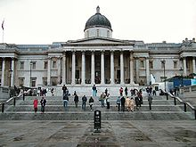 The National Gallery from Trafalgar Square