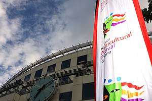 Third culture kid - A banner from the National Multicultural Festival in Canberra, Australia