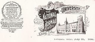 National Normal University former teachers college in Ohio (1855–1917)