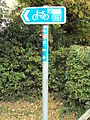 National cycling route 56 sign, Willaston 2.JPG