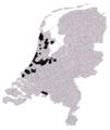 Nederland gemeenten 2015 (VVD strong points).png