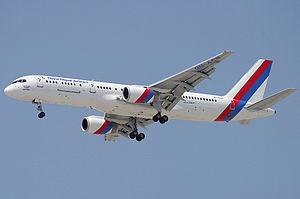 Nepal Airlines Boeing 757-200M Wedelstaedt.jpg