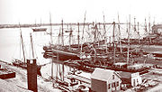 New Bedford, Massachusetts-old harbor