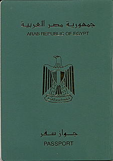 Egyptian passport passport