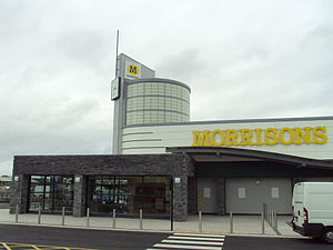 Morrisons - Morrisons supermarket, High Street, Saltney, Flintshire