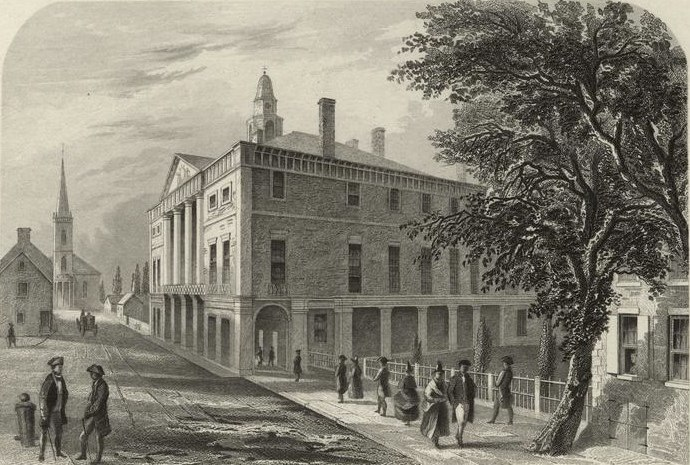 New York City Hall 1789b