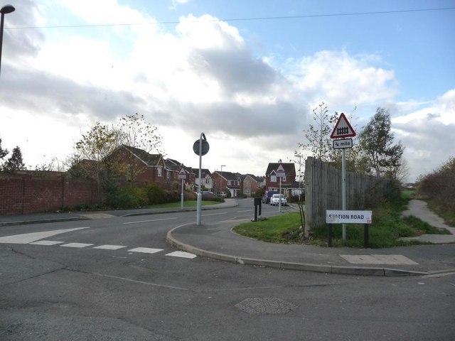 New housing estate, Mickletown - geograph.org.uk - 1592319