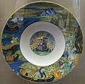 Nicola da urbino, piatto col ratto di elena e stemma di isabella gonzaga, 1519 ca.JPG