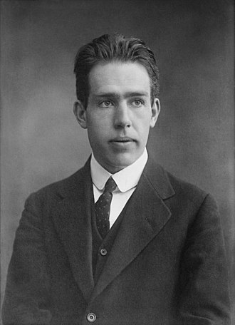 Introduction to quantum mechanics - Niels Bohr as a young man
