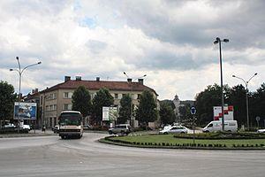 Nikšić, Montenegro - town centre 2