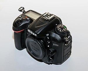 Nikon D7200 - Image: Nikon D7200 01 2016 img 1 body front