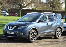 Nissan X-Trail (T32) Registered November 2014 1598cc.jpg