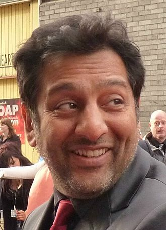 Nitin Ganatra - Ganatra at the 2011 British Soap Awards.