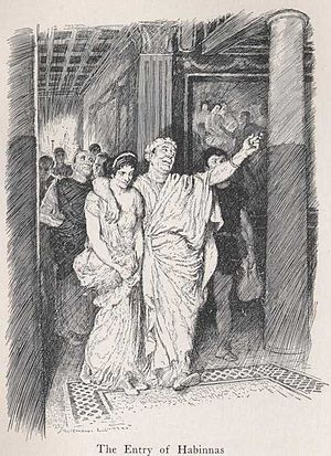 Habinnas - Habinnas and Scintilla, by Norman Lindsay (1922)