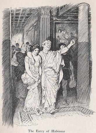 Habinnas - Habinnas and Scintilla, by Norman Lindsay (1922)