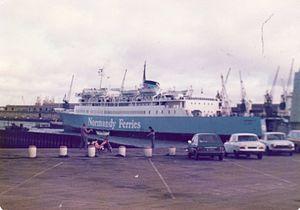 Normandy Ferries Leopard 1979.jpg