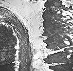 Norris Glacier, dead branch of valley glacier and glacial remnents, September 16, 1966 (GLACIERS 6045).jpg