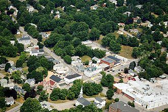 North Brookfield, Massachusetts - North Brookfield center