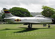 North American F-86K Sabre, Venezuela - Air Force JP6508904.jpg