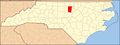 North Carolina Map Highlighting Orange County.PNG