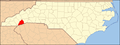 North Carolina Map Highlighting Transylvania County.PNG