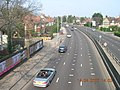 North Circular Road, London NW11 from the Northern Line Footbridge - geograph.org.uk - 404521.jpg