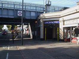North Harrow stn entrance.JPG
