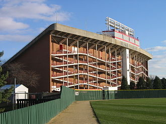 Huskie Stadium - West grandstand in 2006