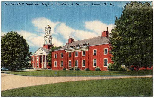 Norton Hall, Southern Baptist Theological Seminary, Louisville, Ky (85750)