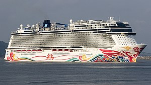 Norwegian Joy at kochi new port (cropped).jpg