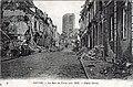 Noyon - La Rue de Paris (oct. 1918) - Paris Street.jpg