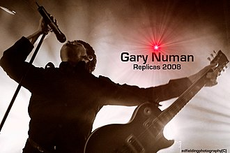 Gary Numan - Promoting the 2008 Replicas Tour